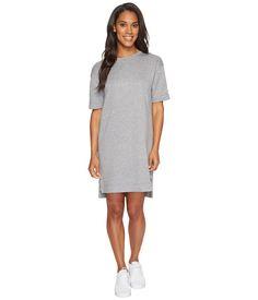 NIKE NIKE - SPORTSWEAR MODERN DRESS (CARBON HEATHER/DARK GREY) WOMEN'S DRESS. #nike #cloth #