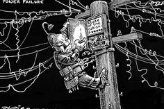 Zapiro: Zuma's great power failure - The Mail & Guardian Political Satire, Political Cartoons, Great Power, Africa, Image, Politics, Humor, Search, Humour