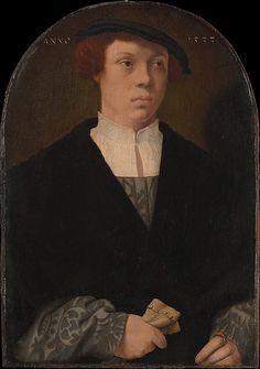 Portrait of a Man - Barthel Bruyn the Elder (German, 1493–1555) Date: 1533
