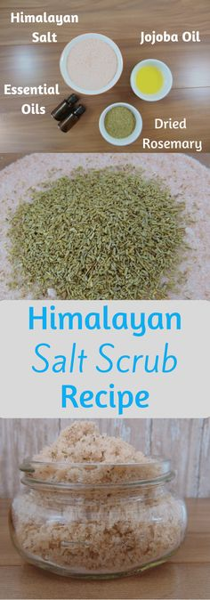 Himalayan Salt Scrubs will refresh and detox your skin. Treat yourself with this Himalayan salt scrub recipe.