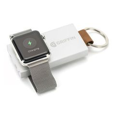 Griffin Travel Power Bank Backup Battery for Apple Watch, Ultra-Portable Recharging Key Chain for Apple Watch - Walmart.com