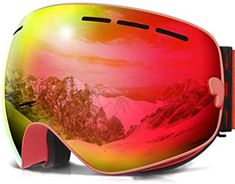 COPOZZ Ski Goggles, G1 OTG Snowboard Snow Goggles for Men Women Youth, Interchangeable Double Layer Anti Fog UV Protection Lens, Polarized Goggles Available Best Ski Goggles, Snowboard Goggles, Ski And Snowboard, Snowboarding, Skiing, Summer Vacation Spots, Fun Winter Activities, Best Skis, Winter Hiking