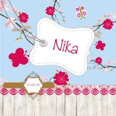 Stoere geboortekaartjes Nika
