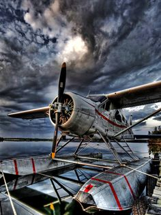 Beaver Float plane. Oh Canada. we love float planes and amphibian aircraft @ http://ridgelandingairpark.com/