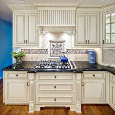 kitchen remodel french hood | kitchen backsplash ideas - materials