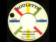 """Jimmie Rodgers - """"Are You Really Mine"""""""