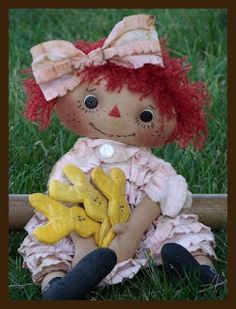 Mimin Dolls: Doll primitive pattern