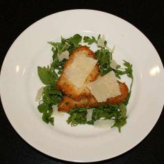 Chicken Scallopini with Parmesan-Herb-Panko Crust