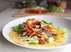 Korilla bbq Truck - korean bbq meets tacos? i'll eat it (Bulgogi Kimchi Tacos)