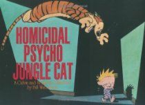 Homicidal Psycho Jungle Cat: A Calvin and Hobbes Collection by Bill Watterson #Comics #CalvinandHobbes