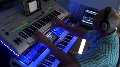 Albertvvl - Jm Jarre Oxygene 8 Cover - remix with Tyros 3 and Fantom G6