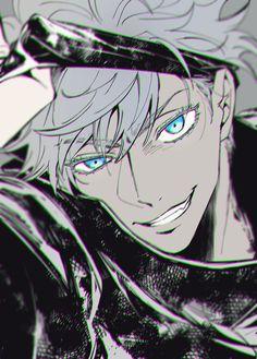 """ふぐ夫 on Twitter: """"再掲!五条先生… """" Anime Boys, Hot Anime Guys, Dark Fantasy, Manga Art, Anime Art, Handsome Anime, Anime Boyfriend, Boy Art, Animes Wallpapers"""