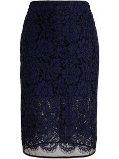 Msgm Lace Pencil Skirt - The Shop At Bluebird - Farfetch.com