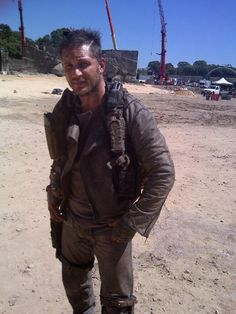 Tommy in full Mad Max gear! :D Eeeee!