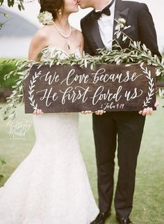 Wedding Planning Welcome your guests with this beautiful, hand painted wedding sign that is sure to make a statement! Display your sign just about anywhere, on an easel, used as a photo prop, or leaning for a casual display. Holiday Wedding Decor, Casual Wedding Decor, Fall Wedding, Outside Wedding Decorations, Casual Country Wedding, Wedding Weekend, Forest Wedding, Party Wedding, Wedding Season
