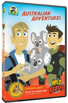 "#Giveaway: Win the DVD ""Wild Kratts: Australian Adventures"" (Ends 2/26)"