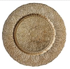 DX Event Rentals Versailles - Champagne Glass charger plate