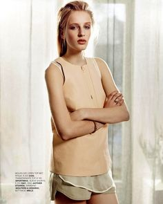 Marie Claire Netherlands Model: Anine van Velzen Photographer: David Cohen de Lara Styled by: Marjolein Mos