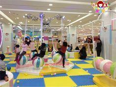 Le Funland Indoor Playground equipments, kids playground, children playground, soft play, merry go round, slide, swing set www.lefunland.com