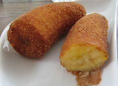 Receita de Banana a Milanesa , Delicioso e fácil de fazer! Aprenda a Receita…