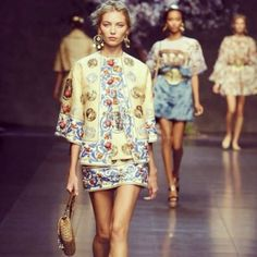 dolce and gabbana spring 2014 history and myth