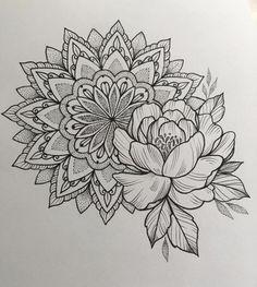 New Tattoo Sleeve Mandala Lotus Henna Ideas Mandala Tattoo – Top Fashion Tattoos Mandala Tattoo Design, Dotwork Tattoo Mandala, Mandala Tattoo Sleeve, Mandala Flower Tattoos, Flower Tattoo Designs, Arm Tattoo, Sleeve Tattoos, Design Tattoos, Mandala Rose