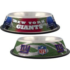 New York Giants Pet Bowl [NYG-Bowl] - $15.95 : Old Timer Sanctuary, Helping shelters and rescues become more sustainable, for the latest NFL gear, apparel, collectibles, and merchandise for pets.