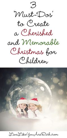 Easy ways to make Christmas more meaningful and memorable for kids.  #LiveLikeYouAreRich