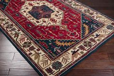 Ancient Treasures A-134 Red RUG