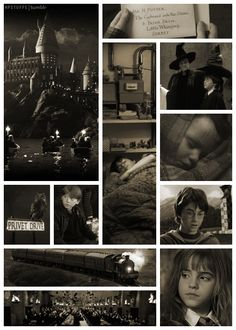 Philosopher's Stone. (Love this one. Nice set of images and THEY WERE SO LITTLE!)
