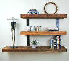 Image result for shelf with hanging baskets