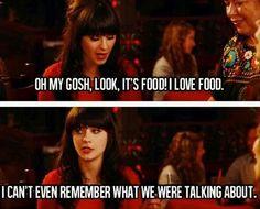 Look, it's food! - Jess