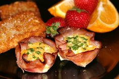 Breakfast Ham or Turkey Cups