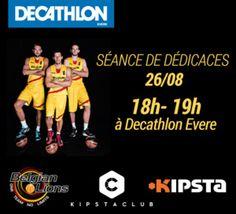 #BelgianLions #BasketBelgium #EuroBasket2015: séance de dédicaces à Evere
