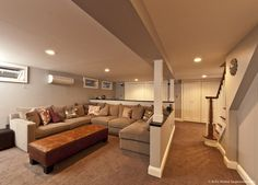 Modern Contemporary Basement Design Build Remodel - modern - basement - new york - by DJ's Home Improvements