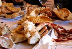 Aftermath of a Crab Feast at Cervejaria Ramiro Lisbon by www.your-lisbon-guide.com , via Flickr #Portugal
