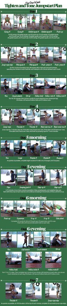 First Week of 2015 Fitness plan . http://www.fitbys.com/1st-week-2015-fitness-plan/