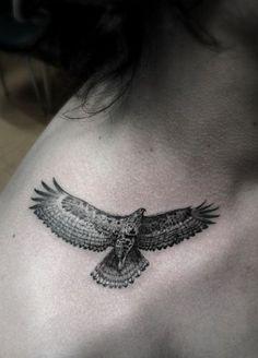Tiny and detailed Bird Tattoos - 14
