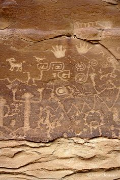 Petroglyphs, Mesa Verde National Park; photo by .Isaac Borrego