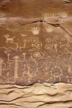 Petroglyphs, Mesa Verde National Park; photo by .Isaac Borrego