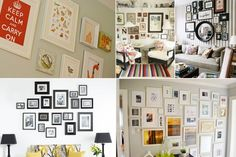 Love this idea for picture/wall hangings..