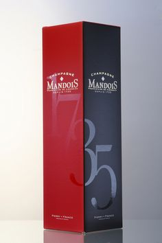 CHAMPAGNE MANDOIS connected sides packaging