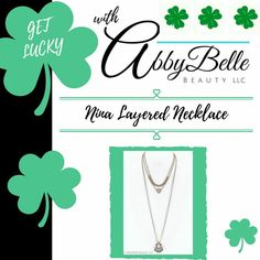 Nina Layered Necklace - http://affiliate.abbybelle.com/krista