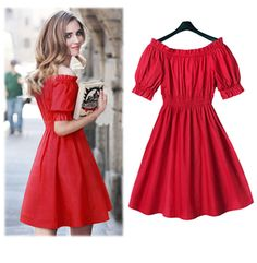 Summer women's clothing cute gorgeous temperament tunic lovely dress S M L XL #NewTrend #Tunic #Casual