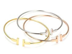 Fashion Brand Jewelry 316L Stainless Steel gold plated Men And Women Love Bracelets Bangles Nails Cuff Bracelet jewelry