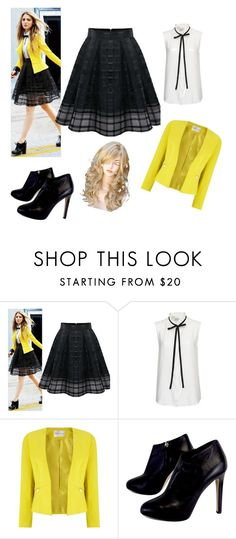 """""""Untitled #96"""" by mirnesa-mirha ❤ liked on Polyvore featuring Frame Denim, Precis Petite and Giuseppe Zanotti"""