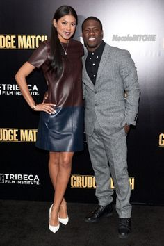 kevin hart and eniko parrish grudge match ATL premiere