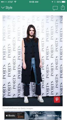 Vest, shirt, jeans, converse Kendall Jenner Style, Kris Jenner, Kardashian  Jenner 9b78f9617a