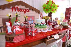 Que amor esta Festa Chapquezinho Vermelho! DecoraçãoRubia de Lima. Lindas ideias e muita inspiração! Bjs, Fabiola Teles.        Mais ideias lindas...