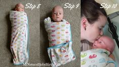 How To Swaddle A Newborn Final Steps